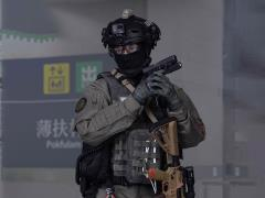 HK Police Counter Terrorism Response Unit Tactical Medic 1/6 Scale Figure