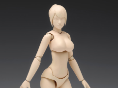Option System Movable Body Female Type (C Ver.) 1/12 Scale Model Kit