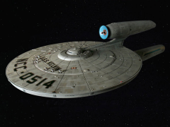 Star Trek U.S.S. Kelvin 1/1000 Scale Model Kit