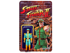 "Street Fighter II 3.75"" Retro Action Figure Champion Edition - M. Bison"