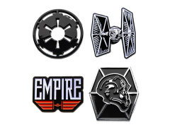 Star Wars Galactic Empire and TIE Fighter Pin Set