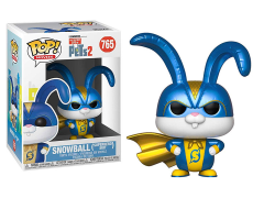Pop! Movies: The Secret Life of Pets 2 - Snowball (In Superhero Suit)