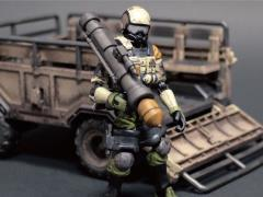 Acid Rain FAV-A06 Sand Armored Trailer Set