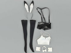 Bunny Girl Outfit 1/6 Scale Accessory Set