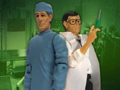 Re-Animator Herbert West & Carl West Retro Figure Two-Pack