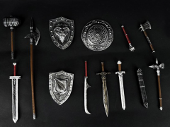 All In One Art Fantasy (Silver) 1/18 Scale Weapon Set