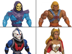 Masters of the Universe Vintage Wave 1 Set of 4 Figures