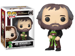 Pop! Icons: Jim Henson - Jim Henson with Kermit the Frog