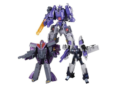 Transformers Henkei Classic Thrilling 30 Decepticon Specialists Three Pack