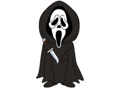 Scream Creepy Classix Krusheez Ghostface