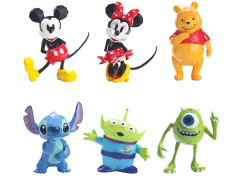 Disney/Pixar Polygo Mini Collection Box of 6 Figures