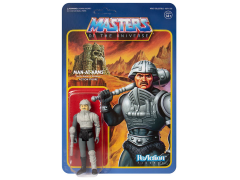 Masters of the Universe ReAction Man-At-Arms (Movie Accurate Color) Figure