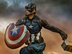 Avengers: Endgame Battle Diorama Series Captain America 1/10 Deluxe Art Scale Limited Edition Statue