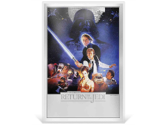 Star Wars: Return of the Jedi Premium Limited Edition Silver Foil