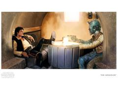 Star Wars The Gunslinger Limited Edition Lithograph