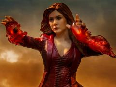 Avengers: Endgame Battle Diorama Series Scarlet Witch 1/10 Art Scale Limited Edition Statue