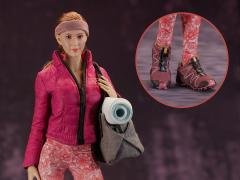 Women's Yoga & Fitness Clothing 1/6 Scale Accessory Set