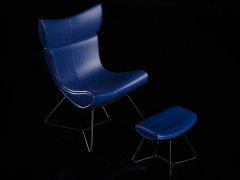 The Chair (Blue) 1/12 Scale Accessory