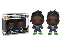 Pop! NFL: Seahawks - Griffin Brothers Two-Pack