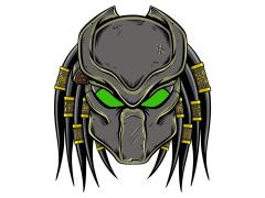 Predator Enamel Pin