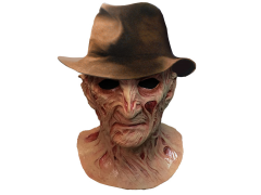A Nightmare on Elm Street 4 Deluxe Freddy Krueger Mask With Fedora
