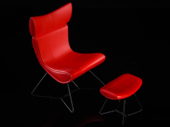 The Chair (Red) 1/12 Scale Accessory