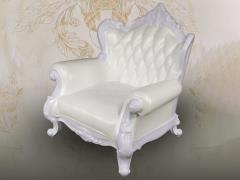 Single Sofa (White) 1/6 Scale Accessory