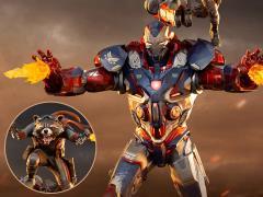 Avengers: Endgame Battle Diorama Series Iron Patriot & Rocket 1/10 Art Scale Limited Edition Statue