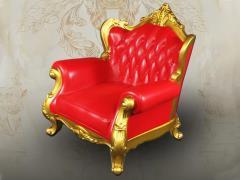 Single Sofa (Red) 1/6 Scale Accessory