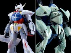 Gundam MG 1/100 SYSTEM Turn A Gundam & CONCEPT-X 6-1-2 Turn X [Nano Skin Image] Exclusive Model Kit