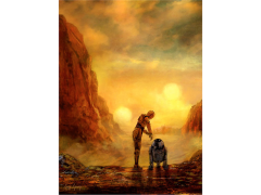 Star Wars Helping Hands Limited Edition Giclee