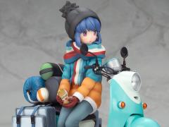 Laid-Back Camp Rin Shima 1/10 Scale Figure With Scooter