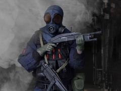 Hong Kong Police Force Special Duty Unit Assault Team 1/12 Scale Figure