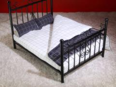 Bedding (White & Black) 1/6 Scale Set