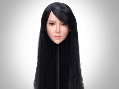 1/6 Scale Female Head Sculpt (Long Hair)