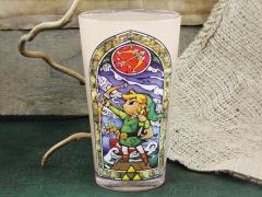 The Legend of Zelda Link Pint Glass