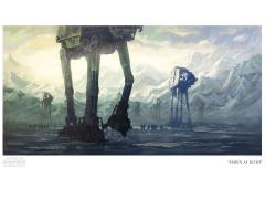 Star Wars Dawn at Hoth Limited Edition Giclee
