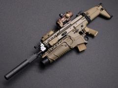 MK16 Rifle (B) 1/6 Scale Weapon Set