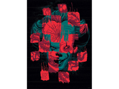 IT Chapter Two Faces of Pennywise 1000-Piece Puzzle