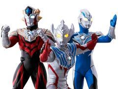 Ultraman Taiga Ultimate Luminous Tri Sqaud Exclusive Three-Pack
