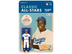 MLB Classic All-Stars ReAction Jackie Robinson (Brooklyn Dodgers) Figure