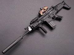 MK17 Rifle (C) 1/6 Scale Weapon Set