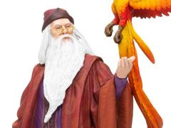 Wizarding World of Harry Potter Professor Dumbledore with Fawkes Figurine