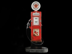 Vintage Gas Pump 1/6 Scale Accessory Set