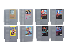 Nintendo NES Cartridges Set of 8 Coasters