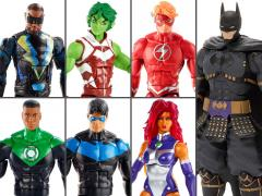 DC Comics Multiverse Wave 11 Set of 6 Figures (Collect & Connect Ninja Batman)