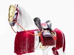 Genpei Heroine Tomoe Gozen War Horse 1/6 Scale Figure