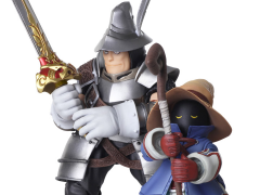 Final Fantasy IX Bring Arts Vivi Ornitier & Adelbert Steiner Two-Pack