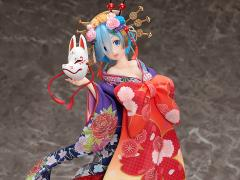 Re:Zero Starting Life in Another World F:Nex Rem (Oiran Douchuu Ver.) 1/7 Scale Figure