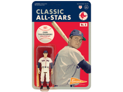 MLB Classic All-Stars ReAction Carl Yastzremski (Boston Red Sox) Figure